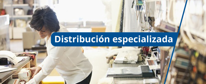 Distribución especializada
